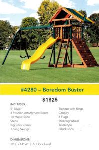 Lonestar Play Sets - Bordom Buster