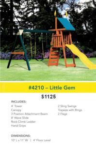 Lonestar Play Sets - Little Gem